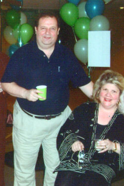 2003 photo of John and Donna Leonard