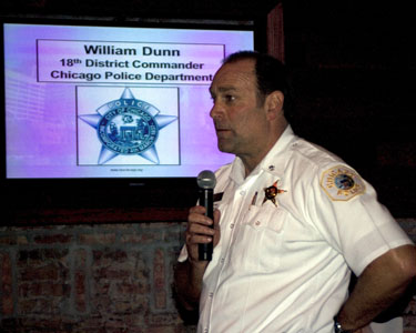 New District Police Commander Meets River North Residents