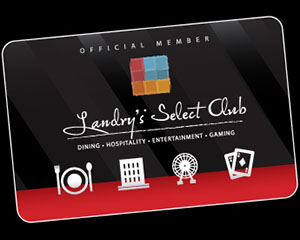 The Birthday Reward is automatically loaded onto the Landry's Select Club card on the first day of the month of your birthday and will expire on the 15th of the following month. For example, if your birthday is June 30, your card will be loaded on June 1 and can be used until July 15th.