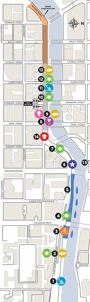 chicago riverwalk map  u2013 bnhspine com