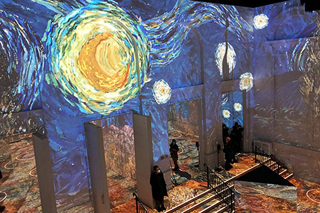 Immersive Van Gogh Exhibit